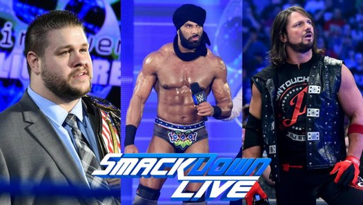 WWE Smackdown Live Highlights: Orton RKO Outta Nowhere 8.29