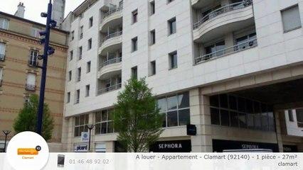 A louer - Appartement - Clamart (92140) - 1 pièce - 27m²