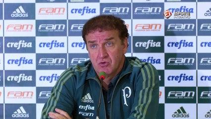 Apesar de erros, Cuca exalta vantagem do Palmeiras na Copa do Brasil: 'Não tem o que se queixar'