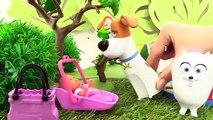 БАРБИ для девочек (BARBIE) и игрушки из мультфильма «Тайная жизнь домашних животных»