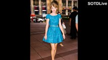 TAYLOR SWIFT looking ADORABLE in TEAL MINI SKIRT | SOTDLive | Episode 2