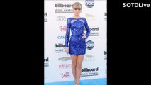 TAYLOR SWIFT looking ADORABLE in BLUE MINI SKIRT | SOTDLive | Episode 5