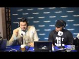 Adam Richman on Best Foods to Serve at Game Parties + a Hip Hop Cooking Show w Sway & Heather B?