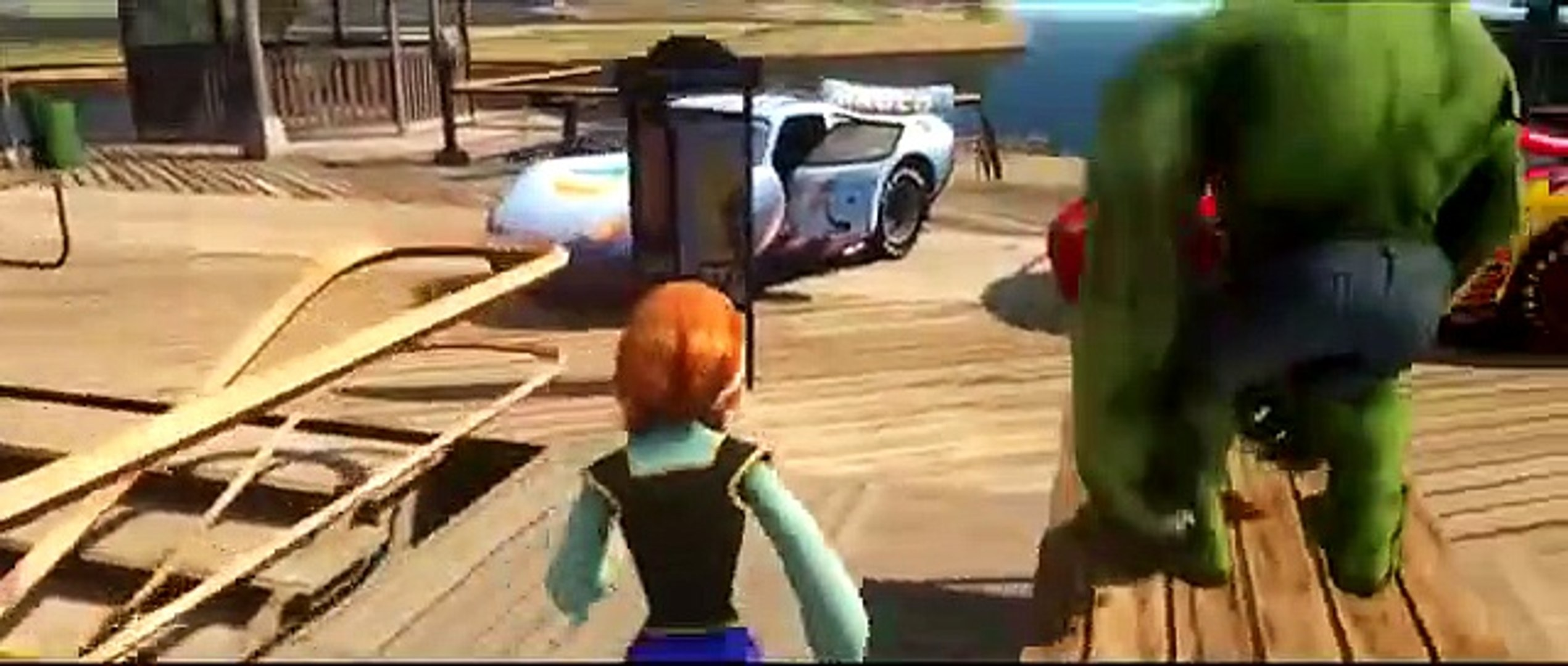Халк и Анна Холодное Сердце веселое приключение друзей , интересный мультик игра для детей