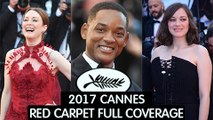 70th Cannes Film Festival Red Carpet | Marion Cotillard, Will Smith | 2017 Cannes Film Festival