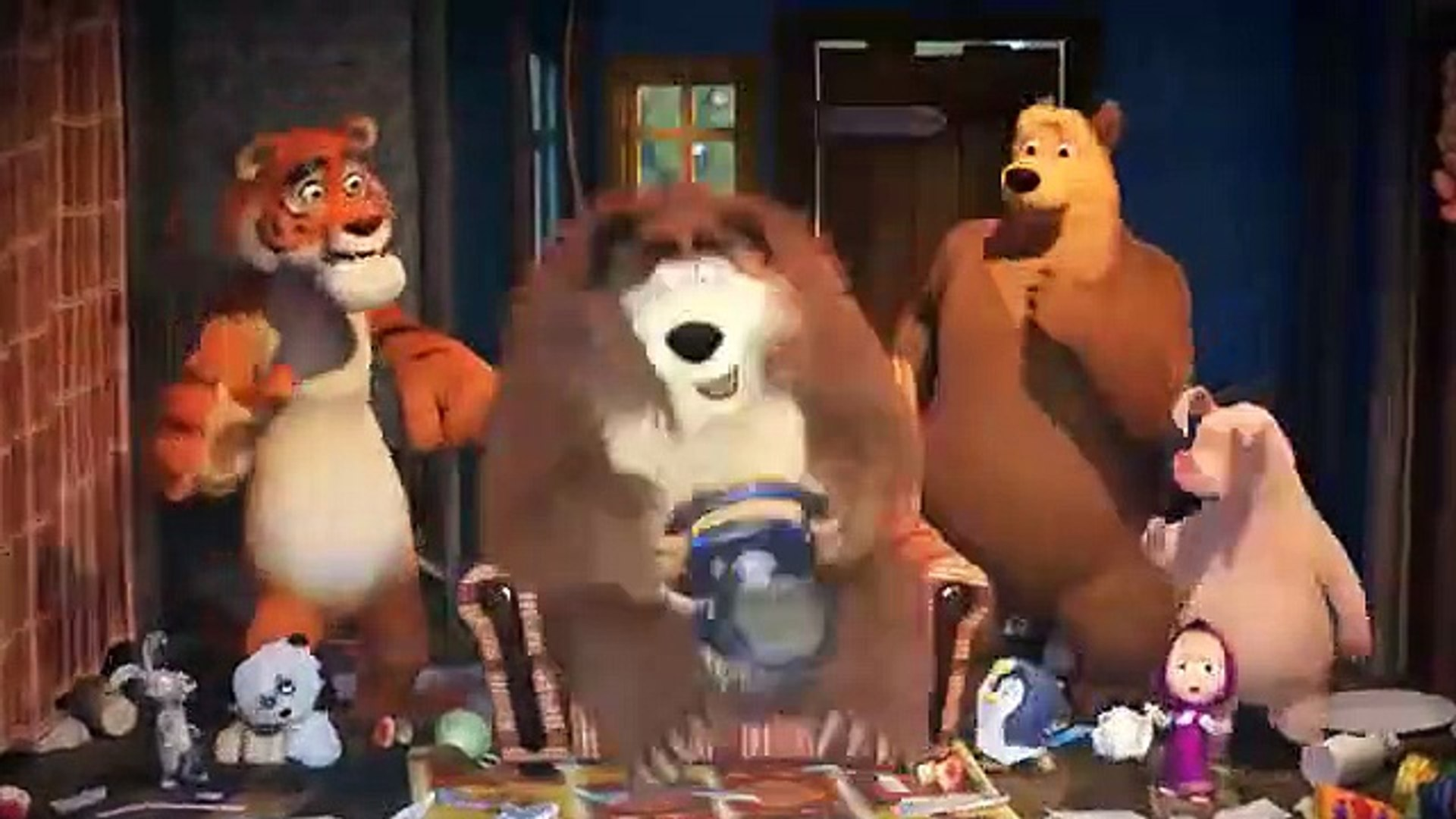 Маша и Медведь 59 - Game Over (Друзья спешат на помощь)