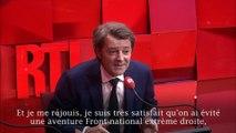 """François Baroin sur RTL : """"je souhaite une coexistence institutionnelle avec le président Macron"""""""