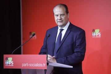 Point de presse de Jean-Christophe Cambadélis à la suite de l'annonce du Gouvernement