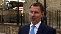 Jeremy Hunt promises fairer NHS funding