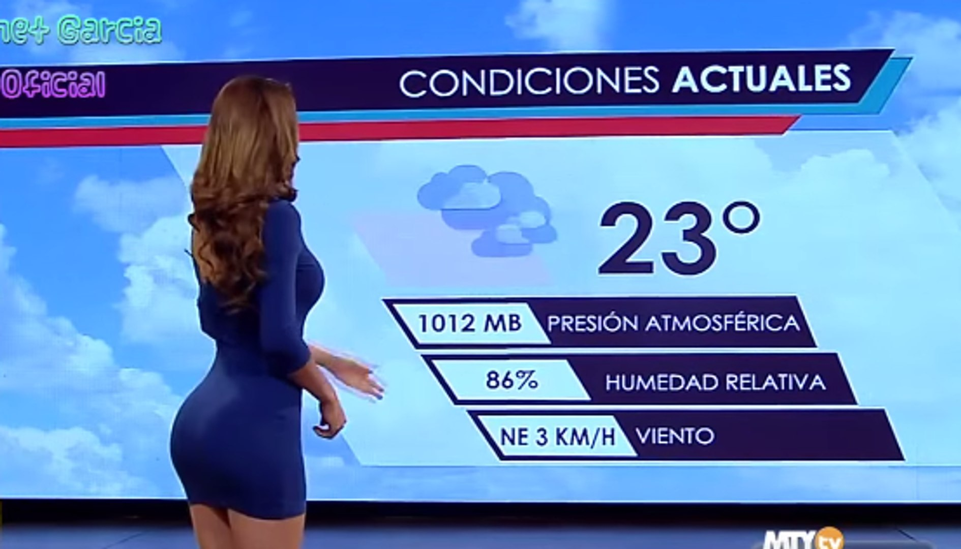 Yanet Garcia Gente Mexican weather