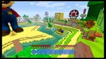 Gameplay de Minecraft en Mundo Mario - Nintendo Switch