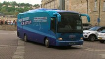 Conservatives arrive for manifesto launch
