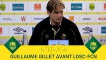 Guillaume Gillet avant LOSC-FCN