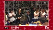 Standing ovation et émotion chez France 2 après l'éviction de David Pujadas