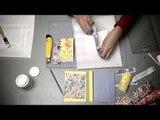DIY : une carte de vœux en papier japonais avec Adeline Klam.