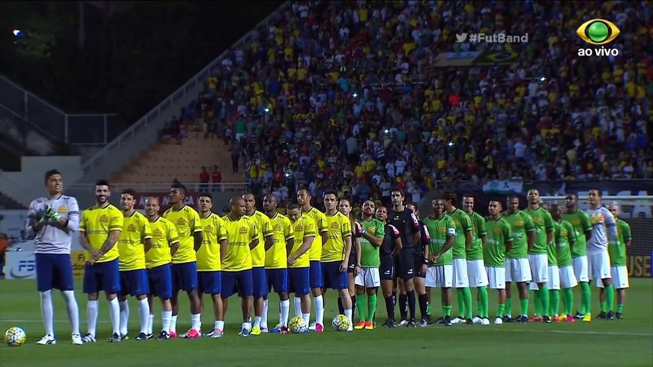Amigos do Neymar vs Amigos do Robinho 13-9 HD AMAZING FOOTBALL MATCH 