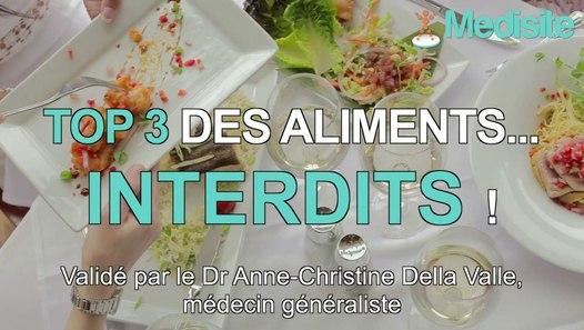 Infarctus : top 3 des aliments interdits ! - Vidéo dailymotion