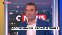 Florian Philippot : « quelle sera la marge de manœuvre de Nicolas Hulot ? » - L'invité de Laurence Ferrari