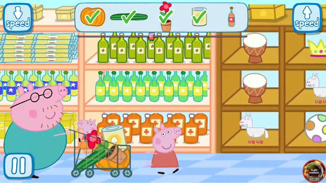 Best Peppa Pig Games - Peppa in the Supermarket [Gameplay Videos]