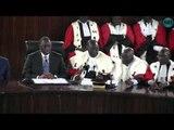 Rentrée  solennelle des Cours et Tribunaux  échanges verbaux entre magistrats et avocats