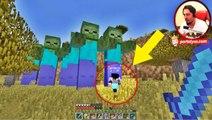 Dev Zombi Ordusu | Minecraft Türkçe Şans Blokları | Bölüm 10