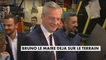 Bruno Le Maire à Ris-Orangis pour son premier déplacement - Gouvernement