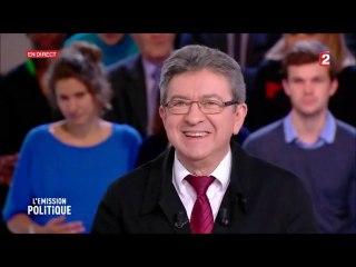 """Jean-Luc Mélenchon invité à """"L'émission politique """" sur France 2 le 18/05/2017"""