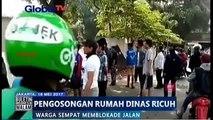 Pengosongan Rumah Dinas TNI Ricuh