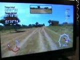 Sega Rally 3 (vidéo2) Xbox360  Micromania Game Show 2007