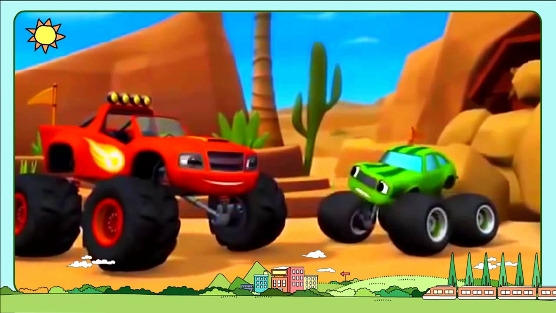 Blaze And The Monster Machines Full Episodes-2 English 1010 - Blaze Cartoon New Series 2016 - ✤✓