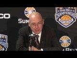 2017 Sun Belt Conference Basketball Championship: Game 2 Press Conference ULM vs Arkansas State