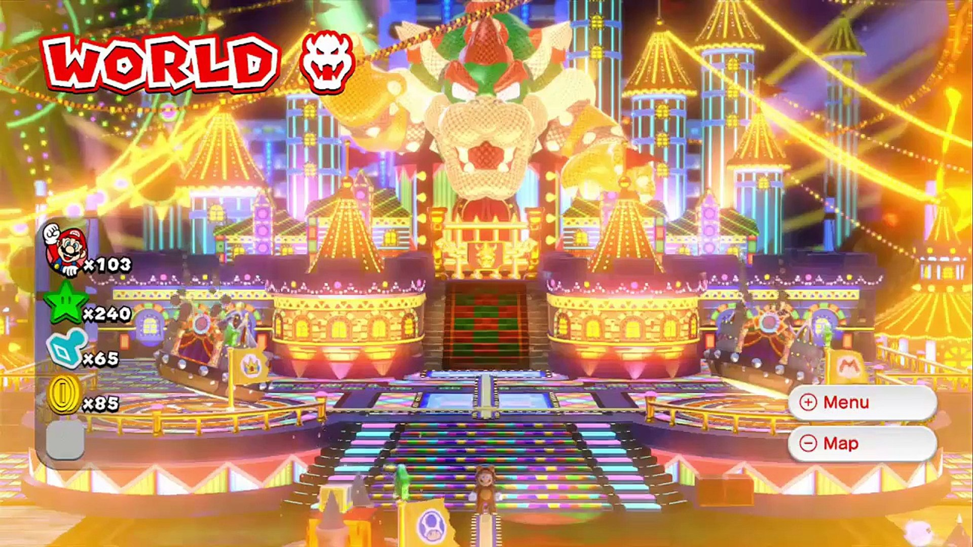 Super Mario 3d World Part 22 Hd 100 Final Boss And Ending