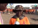 Sur la route de Popenguine 2016 avec Odylle une des premières à marcher