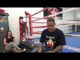 kicking boxing superstar james wilson now at goossen gym EsNews Boxing