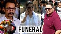 Reema Lagoo Funeral, FINAL JOUNNEY   Aamir Khan, Kajol Pay Last Respects