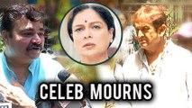 Celebs Mourn Reema Lagoo Death | Veteran Actress | Mahesh Manjarekar & Prashant Damle