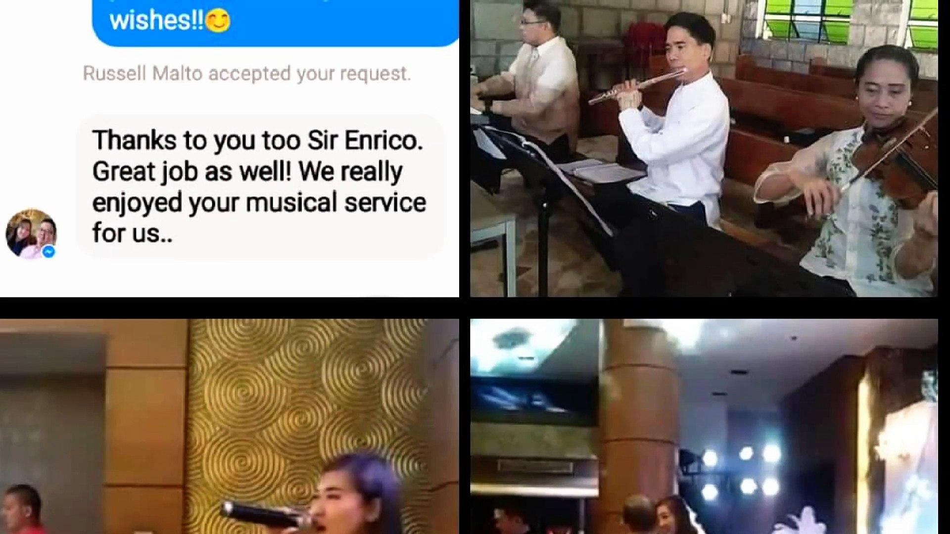 Wedding Musicians Manila Philippines ENRICO BRAZA'S ENTERTAINMENT CENTER