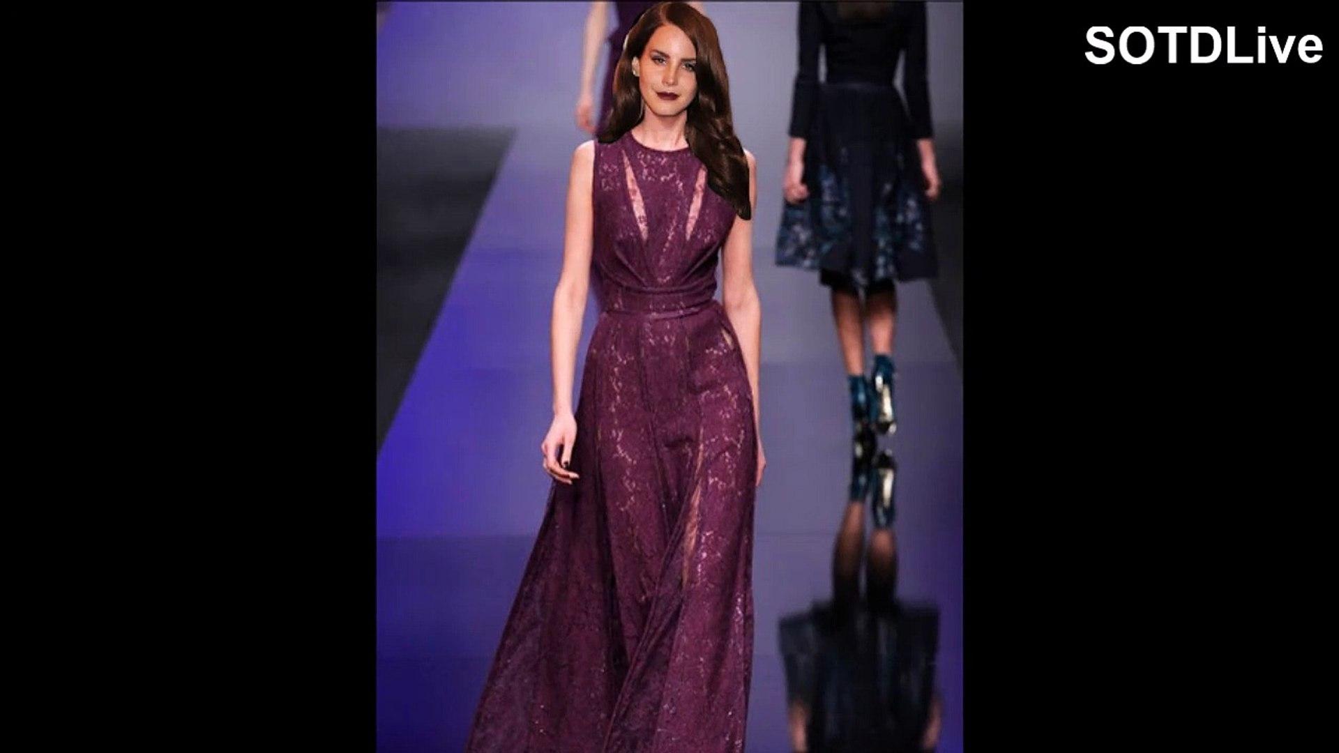 LANA DEL REY looks RAVISHING in PURPLE DRESS | SOTDLive | Episode 8