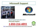Is Microsoft Support 1-850-316-4893 better than average for the clients?