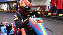 Max Goes Karting In Shanghai