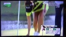 【キム・ハヌル】アラサーのミニスカ♡鮮やかなイエロー�