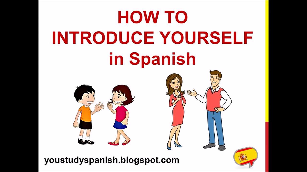 Spanish Lesson 5 – How to INTRODUCE YOURSELF in Spanish Formal Informal Cómo te llamas Cómo se llama