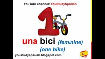 Spanish numbers: 1-20 (v 1) - video dailymotion