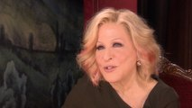 "Actress Bette Midler: ""I never look back"""