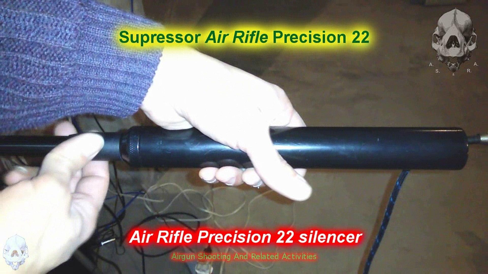 Air Rifle Silencers Comparison, Weihrauch HW100  22 PCP Air Rifle -  Comparação de Supressores