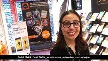 Safia, apprentie conseillère commerciale en boutique