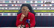 POINT PRESSE (SMC) : AVANT PSG - CAEN