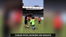 Carles Puyol entraîneur des jeunes, Ribéry en mode rebeu...