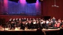 """""""Ouverture du Mariage de Figaro"""" W.A.Mozart. Orchestre Symphonique """"JFP"""" Salle Claude-Champagne,UDM. Sean Liu Stafford"""