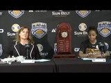 2016 Women's Basketball Championship Press Conference Little Rock vs Troy